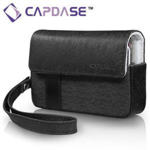 CAPDASE Luxi -100Bコンパクトカメラ用レザーケース(ブラック)|dgmode