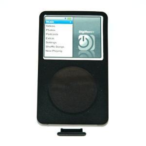 Digifocus iPod シリコンケースclassic 120G/80G/160Gnew(ブラック)|dgmode