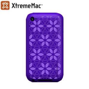 XtremeMac iPod Touch4G用シリコンケース TUFFWRAP TATU (パープル)|dgmode