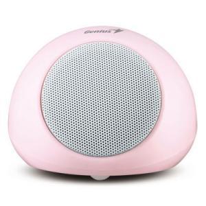 Genius  SP-i170  ポータブル USB充電式ミニステレオスピーカー  (ピンク)|dgmode