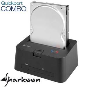 Sharkoon Quickport Combo SATA/IDE 2.5/3.5インチ外付けHDDドッキングステーション dgmode