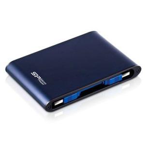 SiliconPower Armor A80  2.5インチ外付けUSB3.0 ハードディスク  500GB  (ブルー)|dgmode