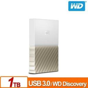 WD(Western Digital) 1TB  My Passport  Ultra  USB3.0対応2.5インチポータブルハードディスク (White-Gold)|dgmode