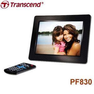 トランセンド 8インチ デジタルフォトフレームPF 830  (ブラック)   |dgmode