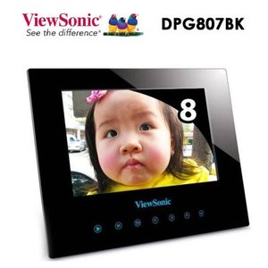 ViewSonic デジタル フォトフレームDPG807BK 8インチ  |dgmode