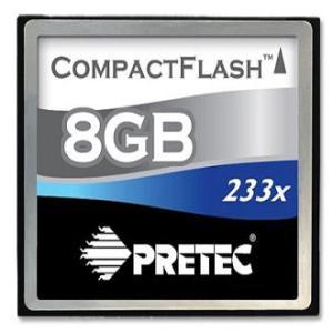 Pretec コンパクトフラッシュ(CF) カード  8G   233倍速|dgmode