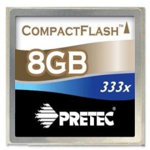 Pretec コンパクトフラッシュ(CF) カード  8G   333倍速|dgmode