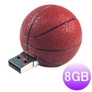iDisk Sport USBフラッシュメモリー8GB (バスケットボール) dgmode