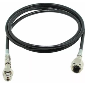 ソーダストリーム本体とミドボン(炭酸ボンベ)接続用のアダプターホースセットです。(長さは約2.5mで...