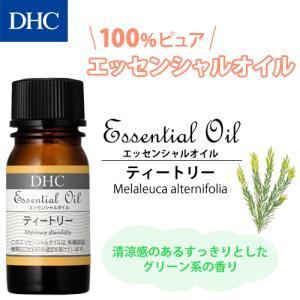 dhc アロマオイル 【メーカー直販】DHCエッセンシャルオイル ティートリー(オーガニック) dhc