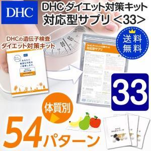 dhc サプリ ダイエット 【メーカー直販】【送料無料】ダイエット対策キット対応型サプリ<33> | サプリメント|dhc