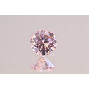 ピンクダイヤ 0.1カラット VS1 ファンシーライトピンク ですが色のり良い秘蔵っ子 宝石研究所ソーティングつき|diadia