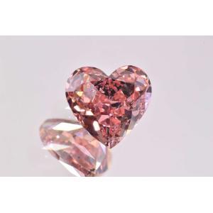 インテンスピンク ダイヤモンド ハート ほぼ0.4カラット GIA はっきりピンクでラブリーな子|diadia