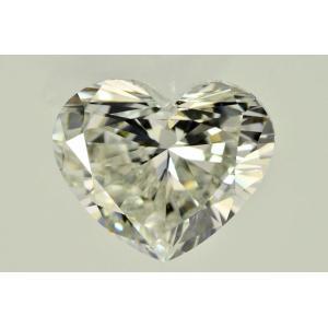 ぷっくり可愛い!ダイヤモンド ハートシェイプダイヤ 1ct 1カラット Iカラー VS2|diadia