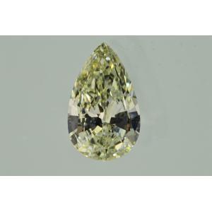 手に届くダイヤ1カラットペアシェイプダイヤルース1ct Mカラーが優しくベリーライトイエローダイヤのようなお色 VS2 海外在庫です|diadia