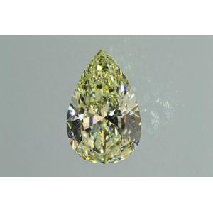 2カラットペアシェイプダイヤ MカラーVS2品質以上のダイヤの輝き!艶々ウルウルさん|diadia