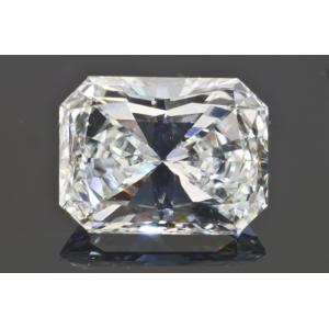 1カラットラディアントカットダイヤルースHカラーVVS2 十分に白いダイヤさん輝きが強く1カラットダイヤを探している方オススメ GIA鑑定書つき|diadia