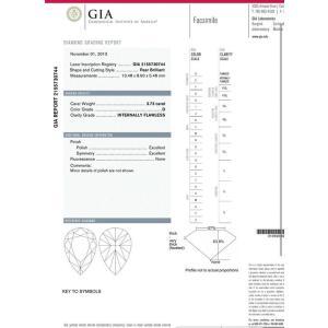 3カラット 4カラット ペアシェイプ ダイヤルース をお探しの方へ3.73カラット ペアシェイプ ダイヤ Dカラー IF インターナリーフローレス高品質ダイヤモンド diadia
