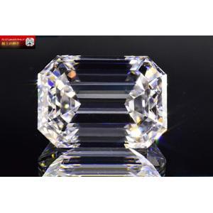 1カラット エメラルドカット ダイヤ Dカラー IF さん 透明感輝きがあふれ出てお水のような美しさ 白い妖精 GIA鑑定書つき|diadia