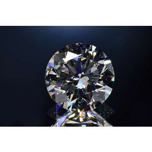 0.5カラット ダイヤモンドルース ハートアロー トリプルエクセレント Dカラー VVS2 輝きまぶしいさん|diadia