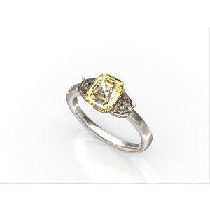 【手作りリング指輪お作り代金 サイドのダイヤ込み】プラチナ 25万円|diadia