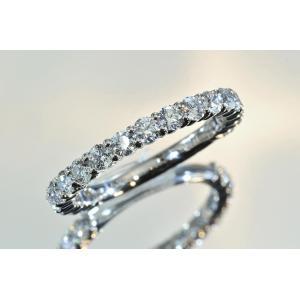 店長も毎日使っています!マストバイ ダイヤモンド専門店がお作りする ダイヤモンドエタニティリング 合計ダイヤ1カラット 前後|diadia