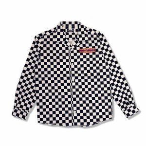 HOLYTERRORS ホーリーテラーズ Checker LS Shirts チェッカーシャツ 長袖シャツ|dialog-ca