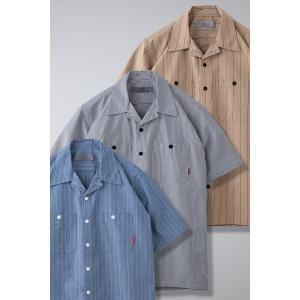 BLUCO ブルコ STANDARD WORK SHIRTS S/S スタンダードワークシャツ 半袖 OL-108|dialog-ca