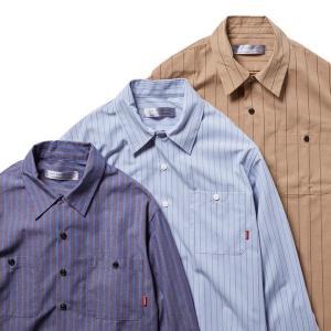 BLUCO ブルコ STANDARD WORK SHIRTS L/S スタンダードワークシャツ 長袖 OL-109 dialog-ca
