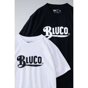 BLUCO ブルコ PRINT TEE' S -logo- プリントTシャツ OL-805|dialog-ca