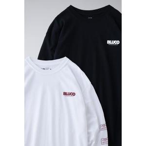 BLUCO ブルコ PRINT L/S TEE' S -measure- プリント長袖Tシャツ OL-806|dialog-ca