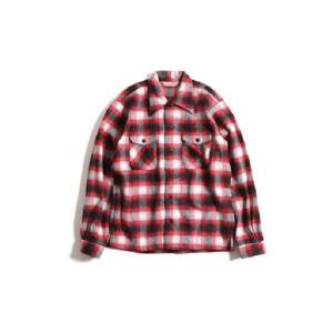TROPHY CLOTHING トロフィークロージング Frisco Shaggy Wool L/S Shirt ウールシャツ dialog-ca