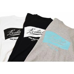 EVILACT イーブルアクト FLAG Logo S/S TEE 半袖Tシャツ|dialog-ca