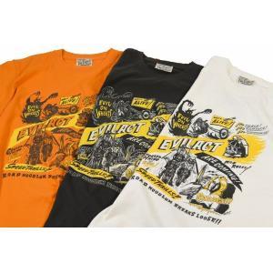EVILACT イーブルアクト EVIL ON WHEELS  S/S TEE 半袖Tシャツ|dialog-ca