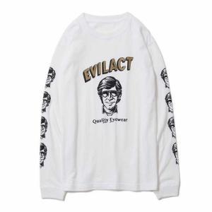 EVILACT EYEWEAR イーブルアクト EAE18-TS02L L/S TEE 長袖Tシャツ|dialog-ca