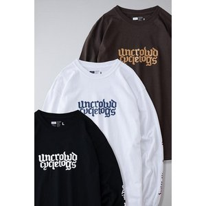 UNCROWD アンクラウド PRINT L/S TEE'S -uct- UC-801|dialog-ca