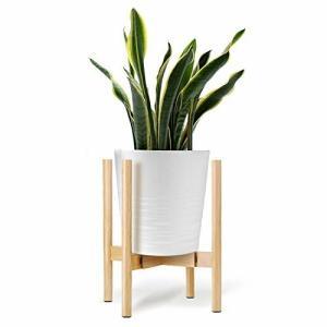 ONE SIGHT フラワースタンド 花台 竹製 鉢スタンド 幅30cmまで調整 観葉植物 台 植木鉢おき プランター プラント|diamod-snap987