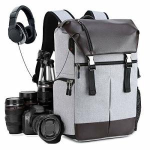 カメラバッグ カメラバックパック リュック 16インチパソコン収納可 一眼レフ レンズ 三脚取り付け可 防水材|diamod-snap987