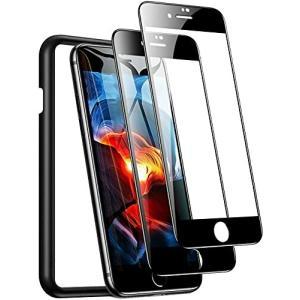 TORRAS 2021進化版 iPhone SE 第2世代 用ガラスフィルム iPhone 8・7 用ガラスフィルム 縁が浮かない 2枚セット ガイド|diamod-snap987