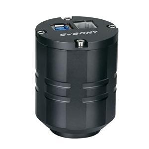 SVBONY SV305Pro 望遠鏡カメラ CMOSデジタル接眼レンズ ST4ガイドUSB3MP 1.25インチ 天文学カメラ 望遠鏡惑星観測 写真|diamod-snap987