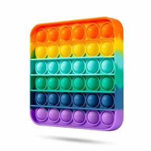 スクイーズ玩具 プッシュポップ  フィジェットおもちゃ プッシュポップポップ バブル感覚 減圧グッズ ストレ|diamod-snap987