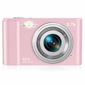 Rosdeca デジタルカメラ デジカメ コンパクト HDカメラ 2.7K 44MP 16倍ズーム 連写機能 軽量 携帯便利 2.88インチIPS画|diamod-snap987
