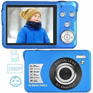 初心者 子供向け デジタルカメラ コンパクト デジカメ 1920x1080P 3000万画素数 携帯便利 2.7インチスクリーン LED|diamod-snap987