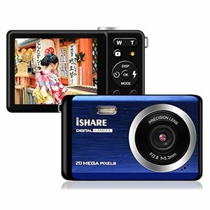 デジタルカメラコンパクト1920 × 1080p 2000万画素フラッシュ付き2.8インチtft軽量笑顔検出8倍デジタルズーム連続|diamod-snap987