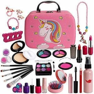 ROKKES 女の子 おもちゃ 化粧品おもちゃ 子供用 偽化粧品おもちゃ 化粧品おもちゃ 子供 メイクアップセットセ|diamod-snap987