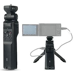 JJC GP-VPT1 有線リモートググリップ 自撮り棒 VLOG三脚 Sony ZV-1 RX100 VII VI VA V IV III II A6000 A6100 A6300 A6400 A6500 A6600 対|diamod-snap987