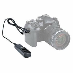 JJC RM-CB2 互換 シャッターリモコン リモートレリーズ リモートケーブル カメラ ケーブルレリーズ リモコンコ|diamod-snap987