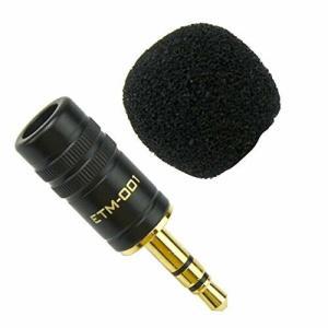 Edutige 高音質 外付けマイク GoPro カメラ 音声 収録 撮影 オリジナルステッカー付 (ETM-001)|diamod-snap987