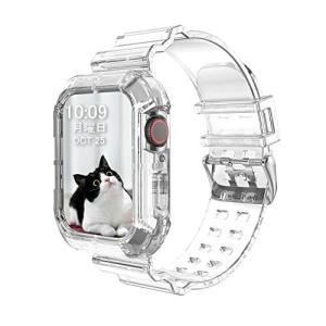 アップルウォッチ バンド 透明, 44mm/42mm 40mm/38mm に 対応 Apple Watch クリアバンド 6/SE/5/4/3/2/1 (40mm/38mm,透明)|diamod-snap987