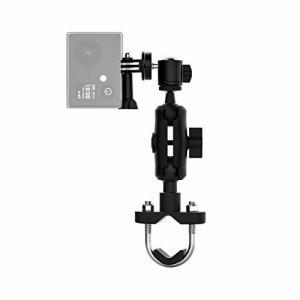 Onvian ボールヘッドアーム オートバイバイクカメラホルダー ダブルボールヘッド360°調整可能 GoPro Hero9/8/7/6/5/4/|diamod-snap987